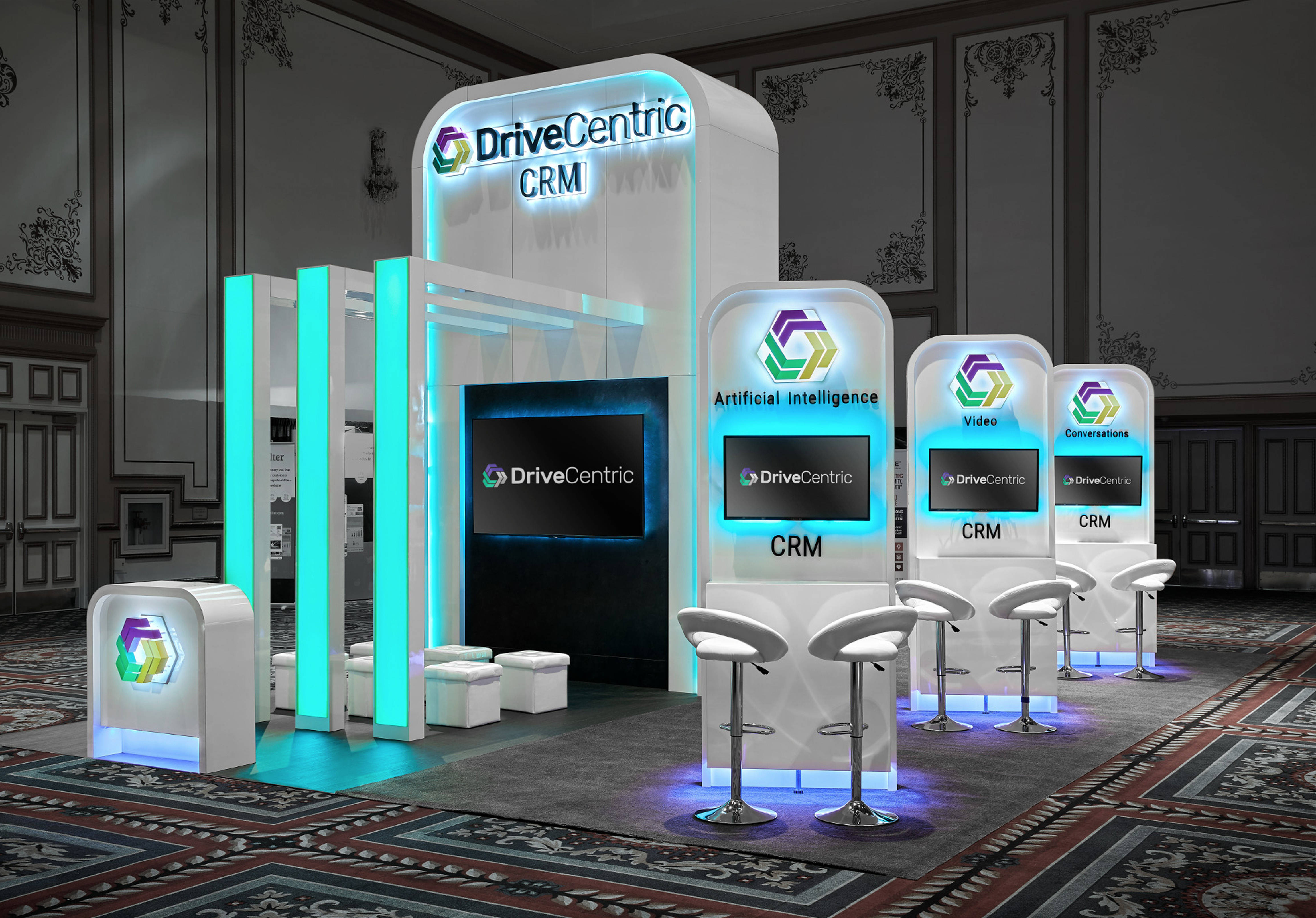 Digital Dealer Conference exhibit