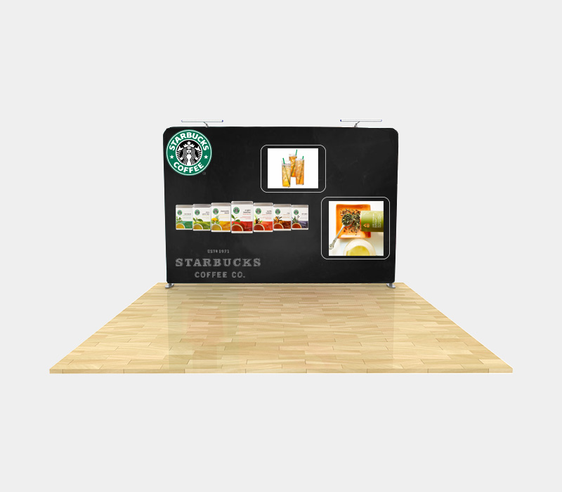 10x8 Straight Portable Display