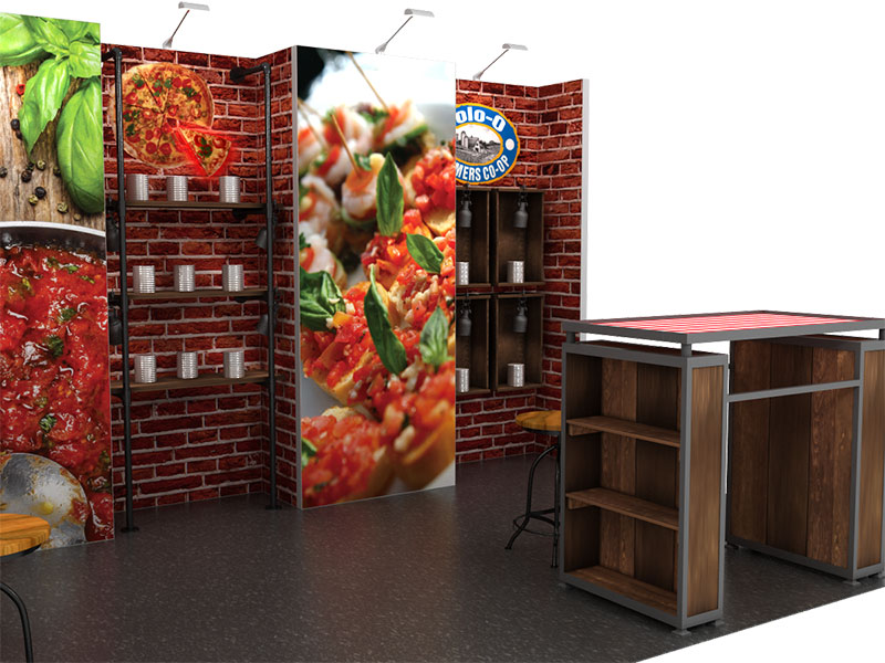 restaurant expo booth rental