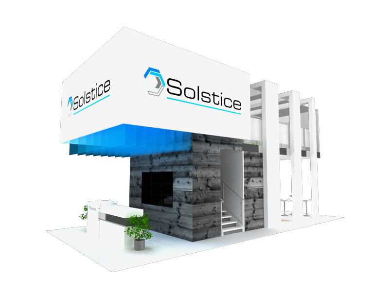 Solstice Trade Show Display Booth