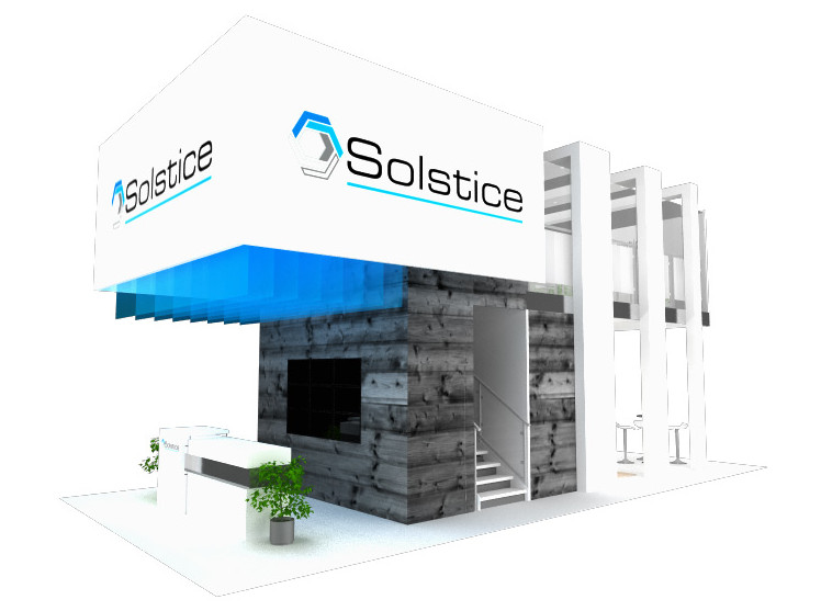 Solstice Trade Show Exhibit Booth