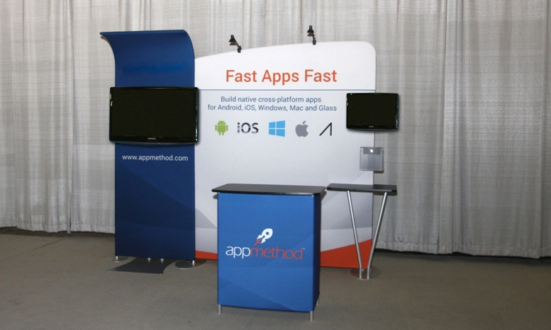 Best Fabric Portable Trade Show Display