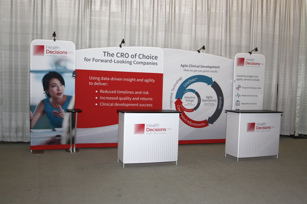 Tension Fabric Trade Show Displays
