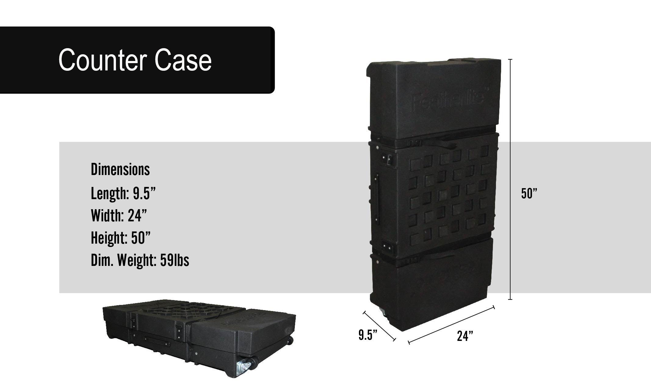 Valencia Portable Displays Counter Case