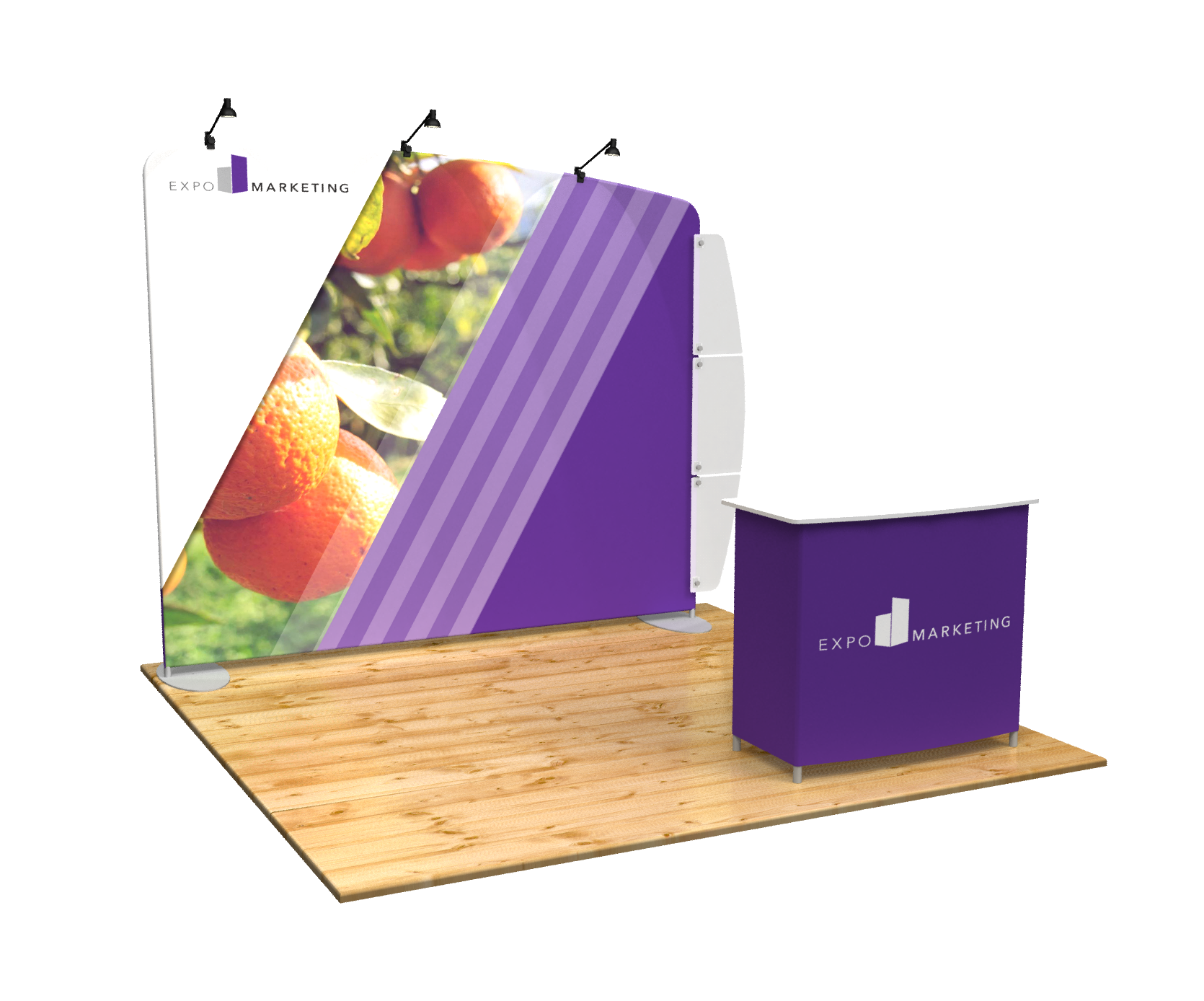 Perspective Expo Display Booth Rental