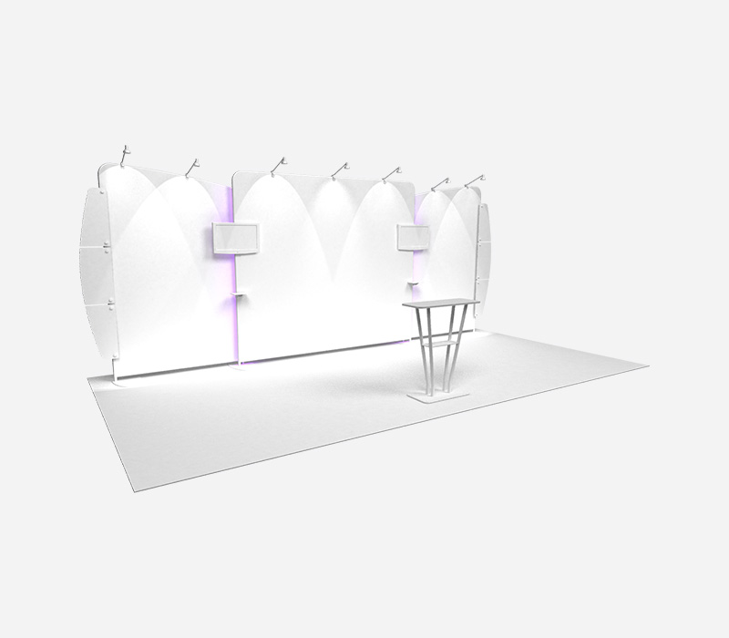 Perspective Trade Show Expo Display Rental Blank