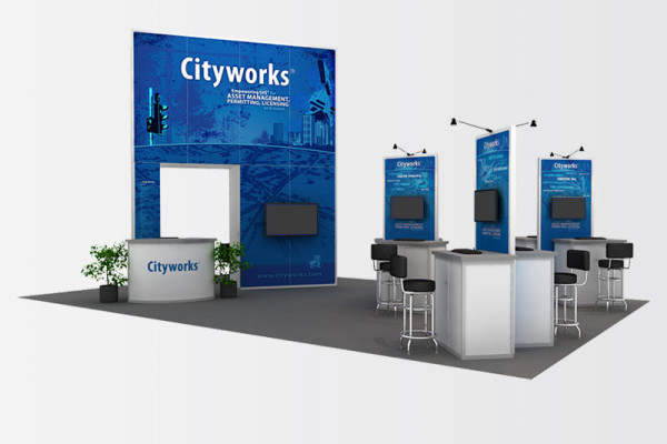 Cityworks 20 x 30
