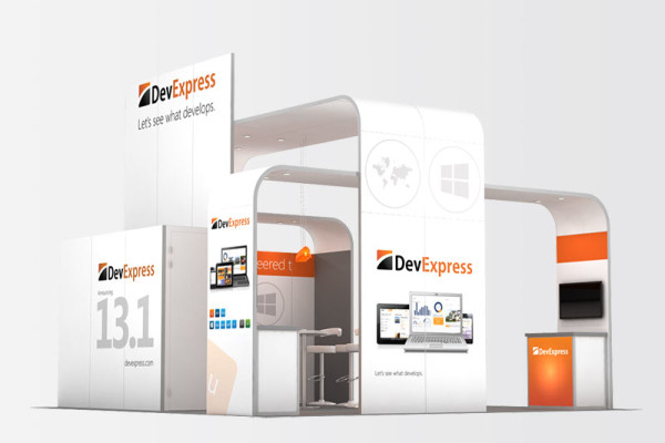 20x20 Trade Show Booths | ExpoMarketing