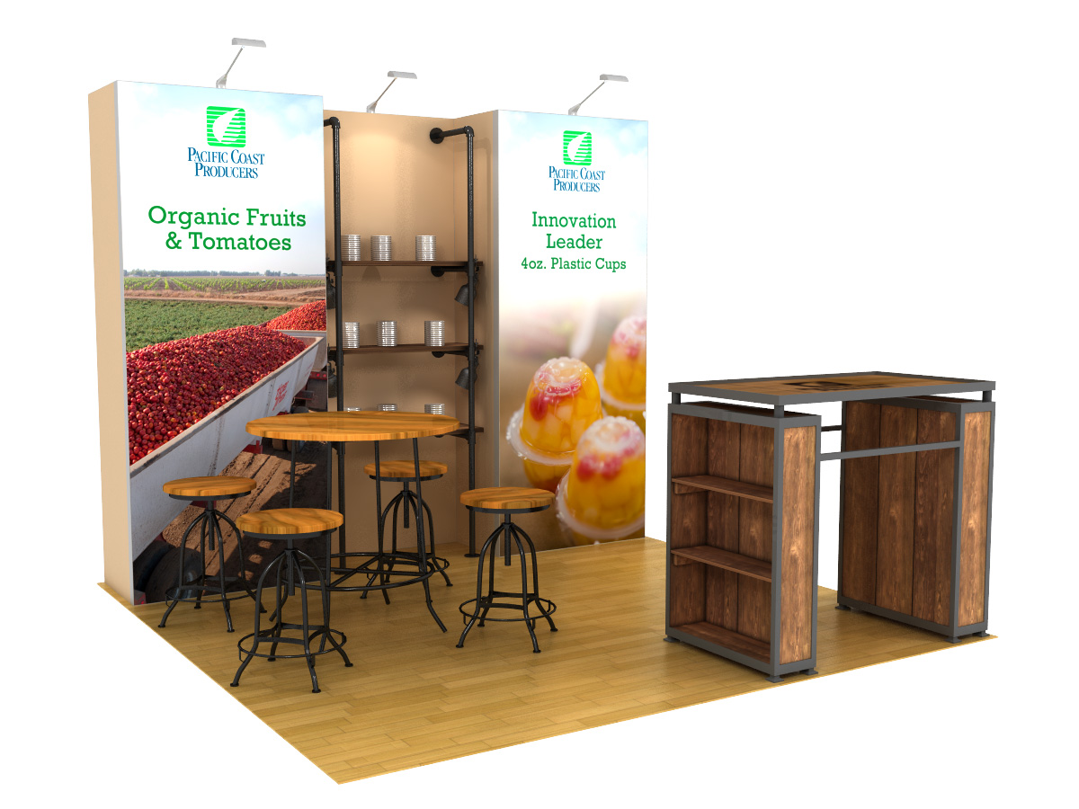 PCP 10x10 Trade Show Booth Rental