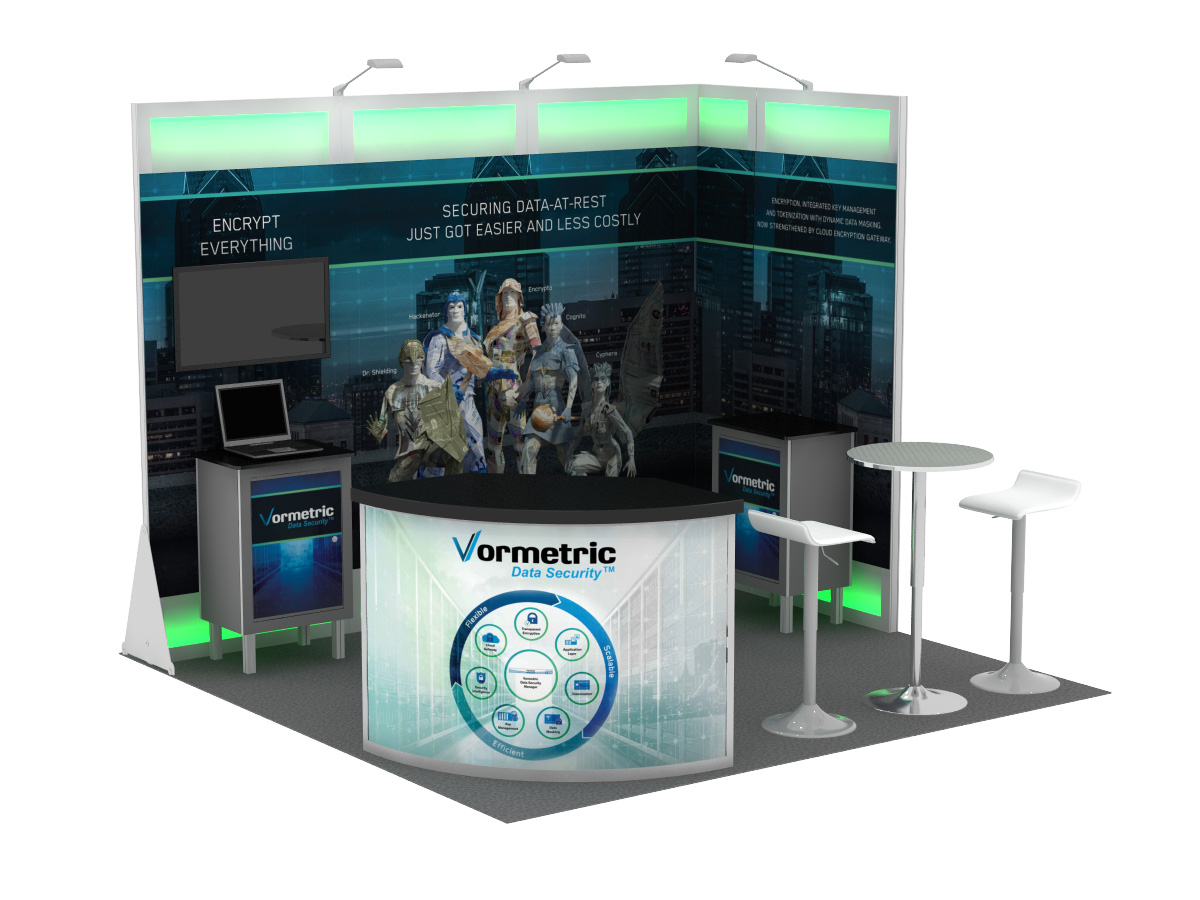 Small Exhibition Stand Mockup : 10x10 trade show booths expomarketing