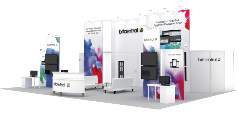 Trade Show Display 30x40 Bitcentral