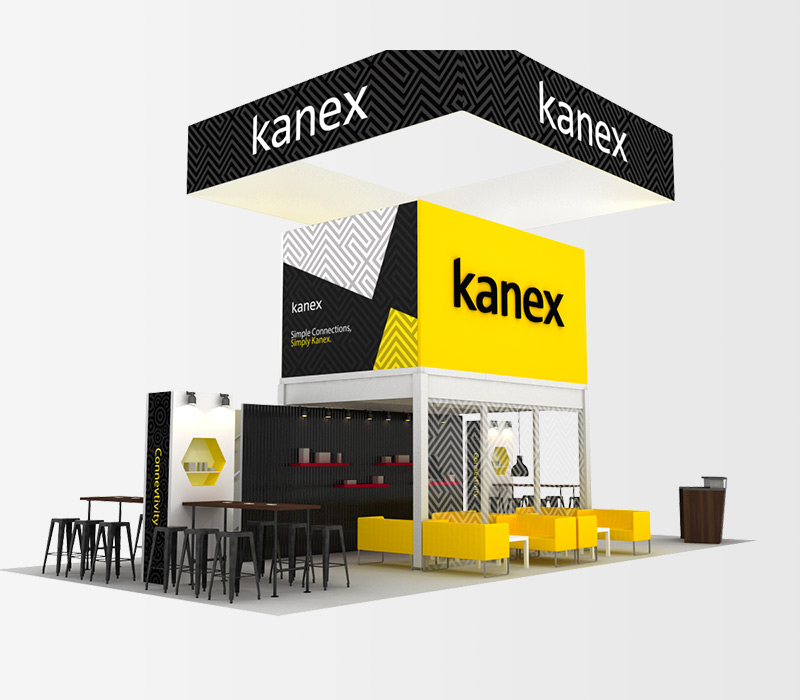 Kanex 20x40 Trade Show Display Rental