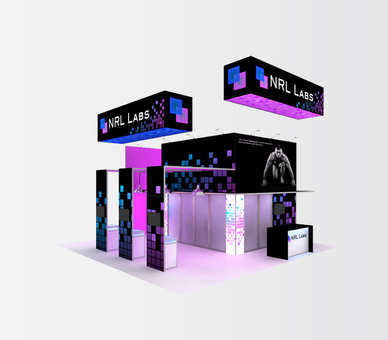 NRL Labs Trade Show Booth Rental