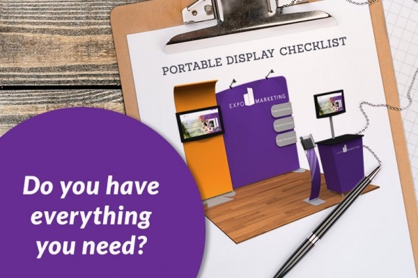 Portable Trade Show Display Checklist