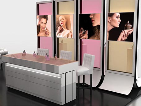 ki beauty booth trade show booth rental