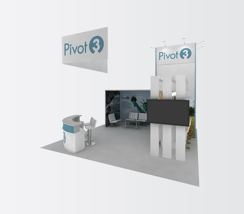 Pivot3 Trade Show Booth Rental