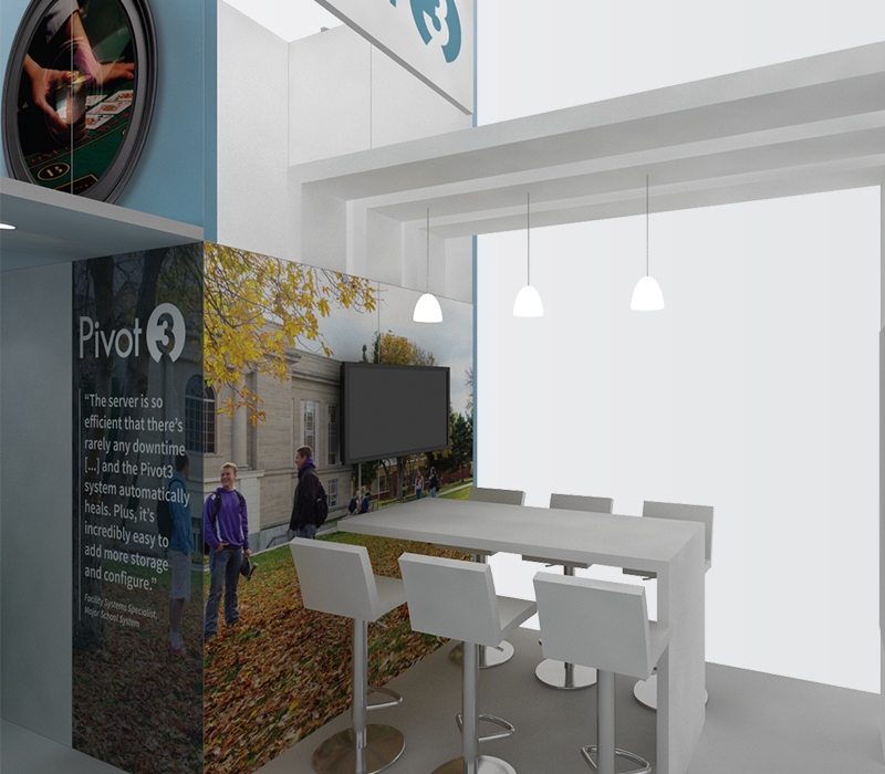 Pivot3 Trade Show Booths
