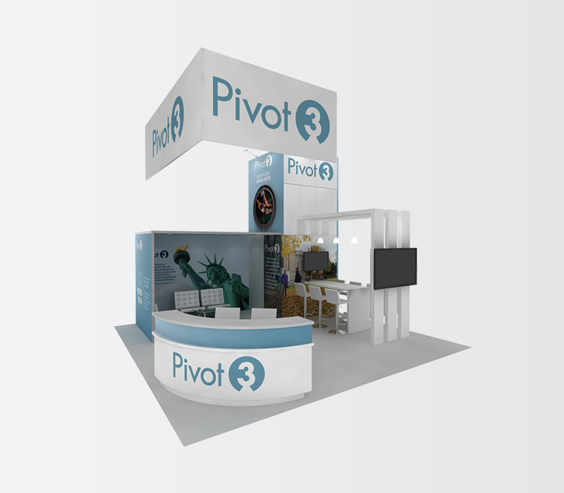 Pivot3 Trade Show Display Rentals
