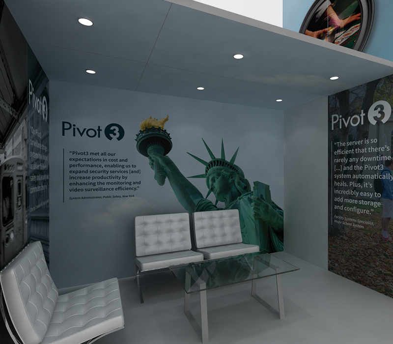 Pivot3 Trade Show Exhibits