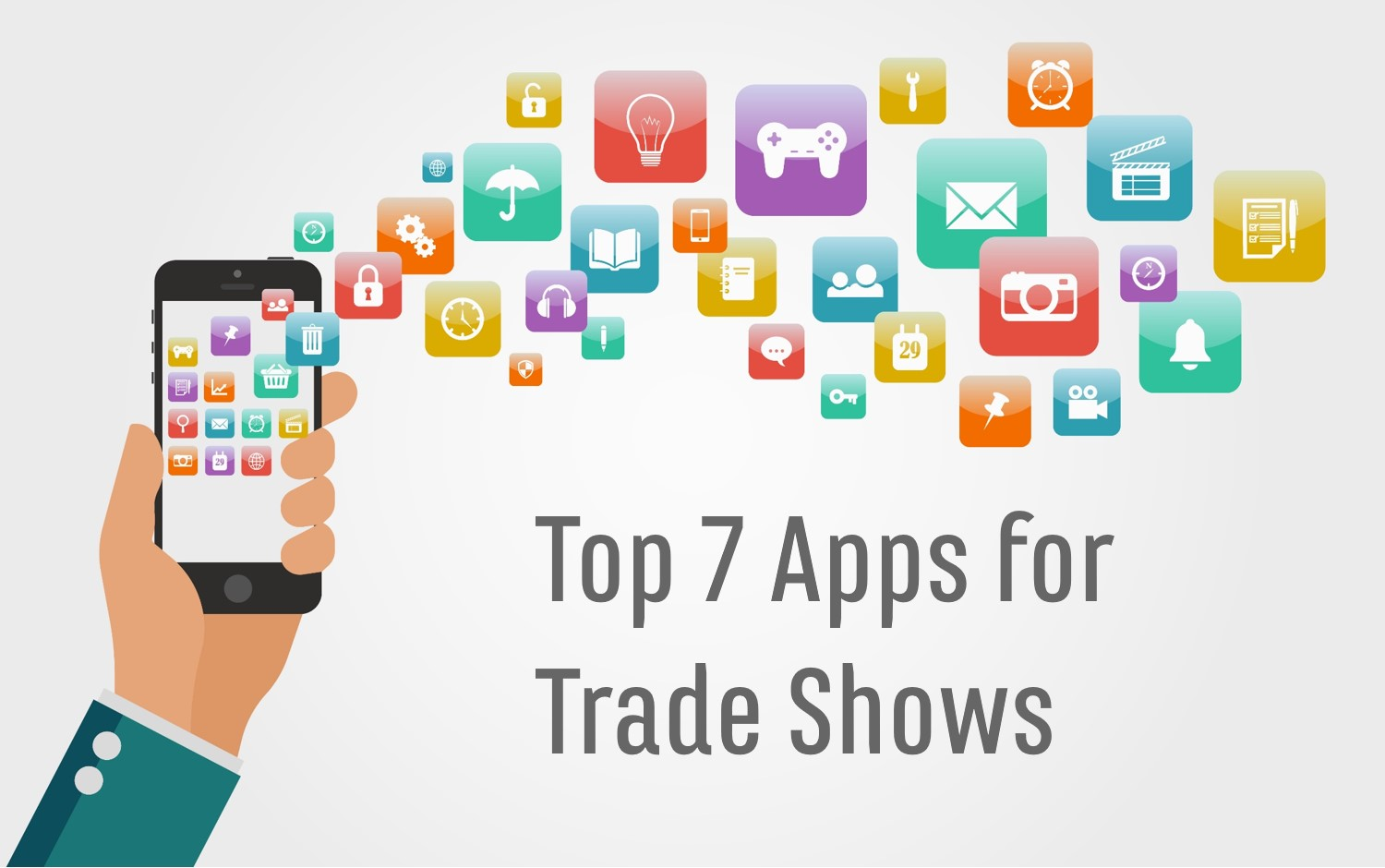 the top 7 apps for trade shows expomarketing