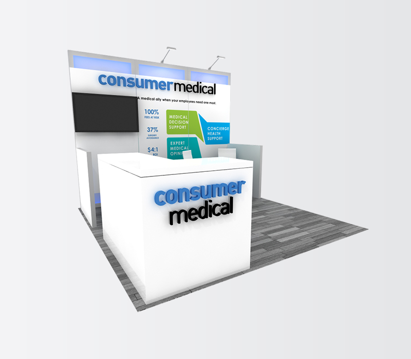 medical device trade show booth rentals