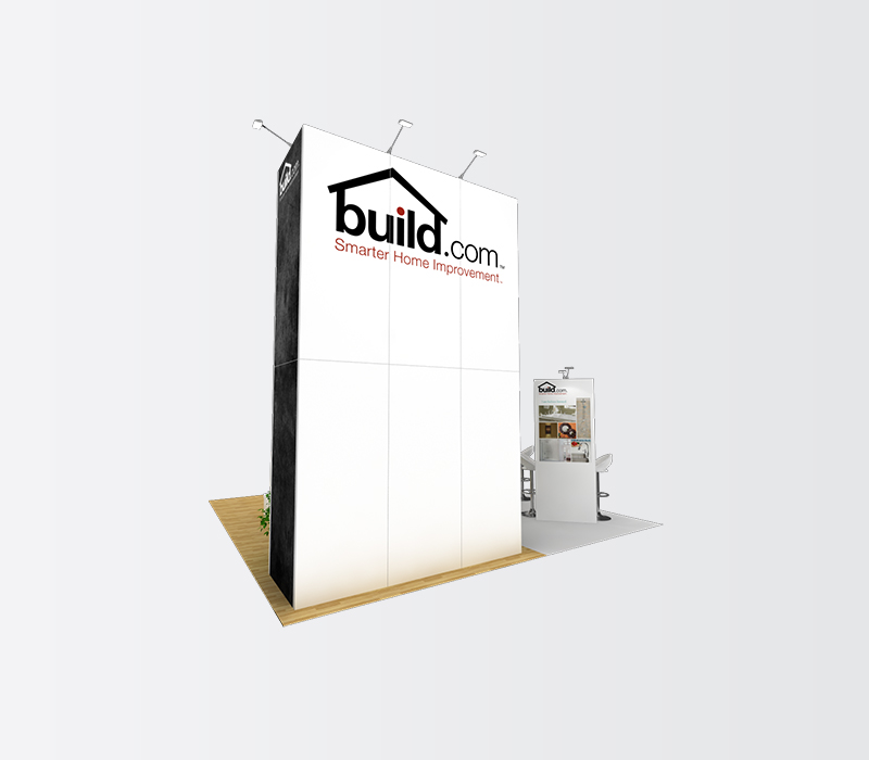 Build.com Dwell on Design 20x20 trade show booths