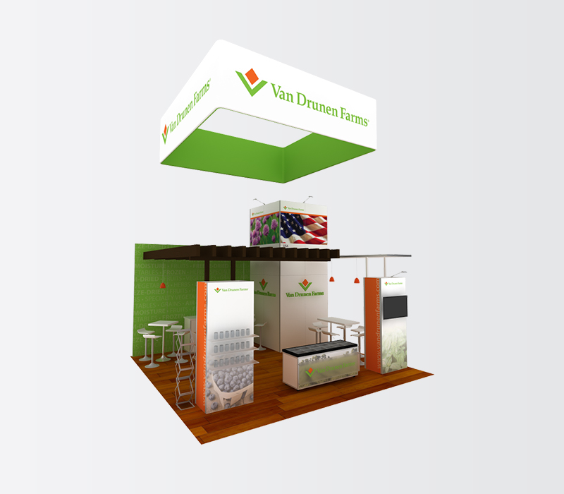 natural products industry expo booth rental