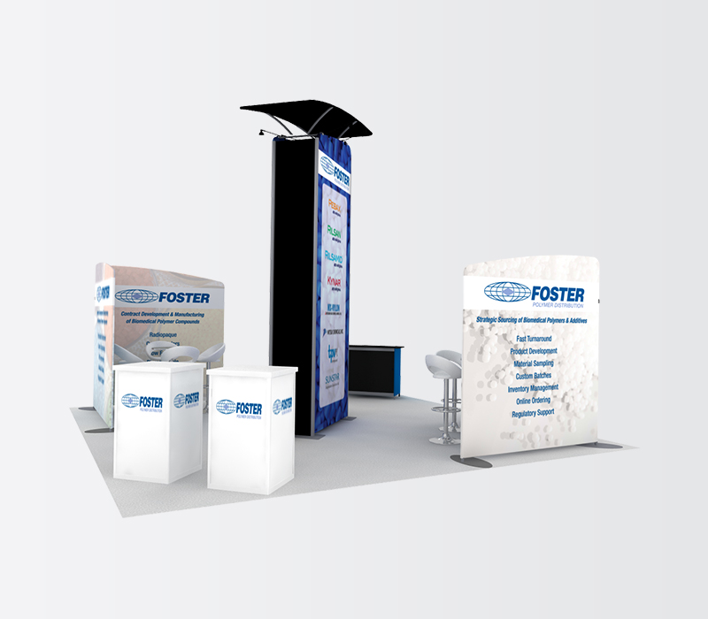 foster md&m west 20x20 display