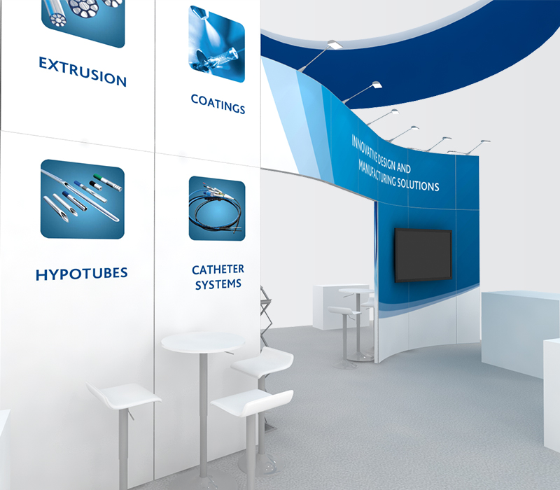 freudenberg medical trade show displays