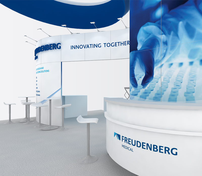 freudenberg trade show booth rental