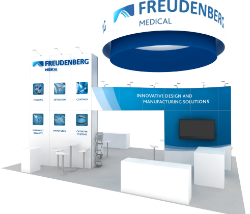 Medical Device Pharmaceutical Trade Show Displays
