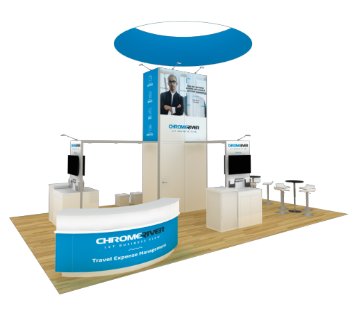20 x 30 trade show booth