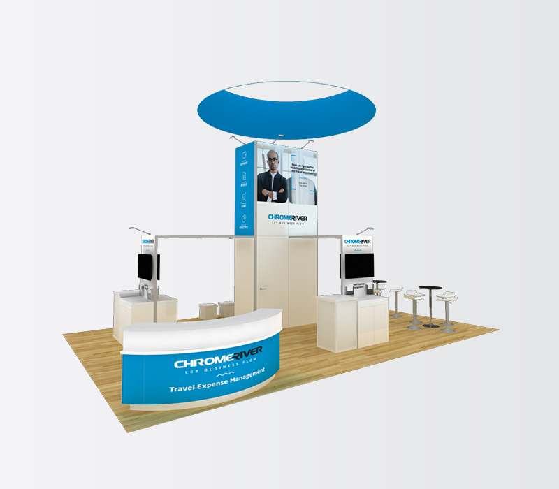 20x20 Custom Trade Show Display