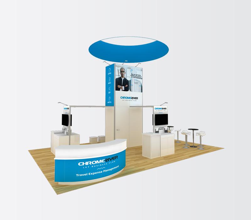 20 x 30 Custom Trade Show Display
