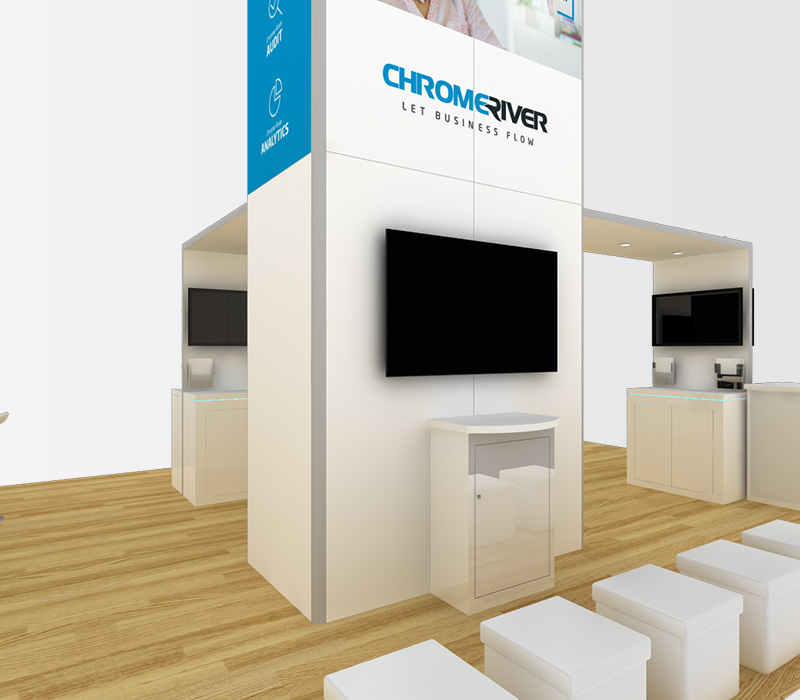 20x20 Custom Trade Show Display Builder