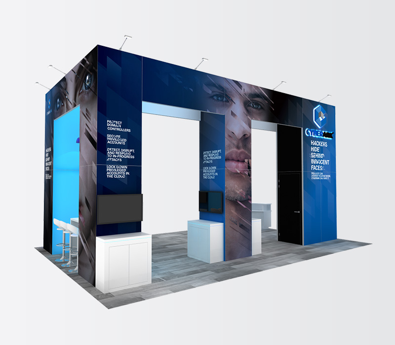 Custom 20x30 Trade Show Exhibits