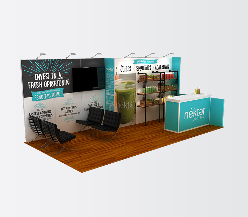 Custom 10x20 Trade Show Display
