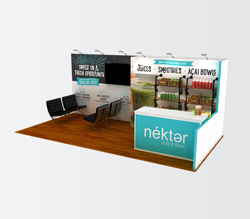 Custom 10x20 Trade Show Booth