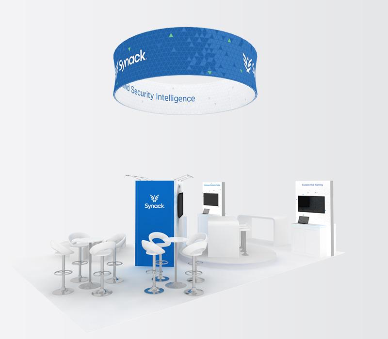 Custom 20x30 Trade Show Booth