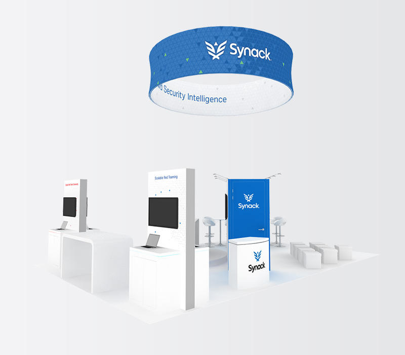 Custom 20x30 Trade Show Exhibit