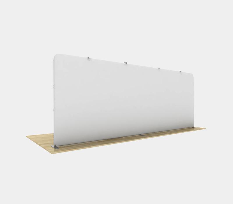 20x8 Straight Pop Up Display