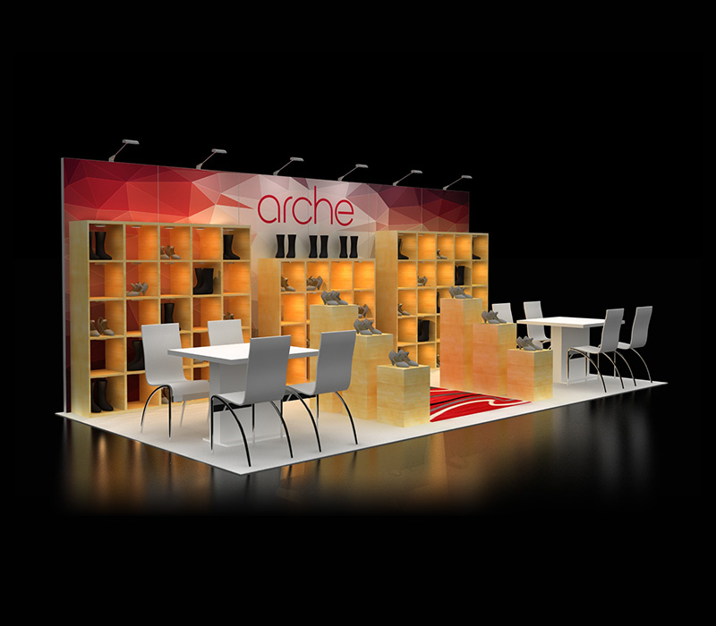 retail trade show display