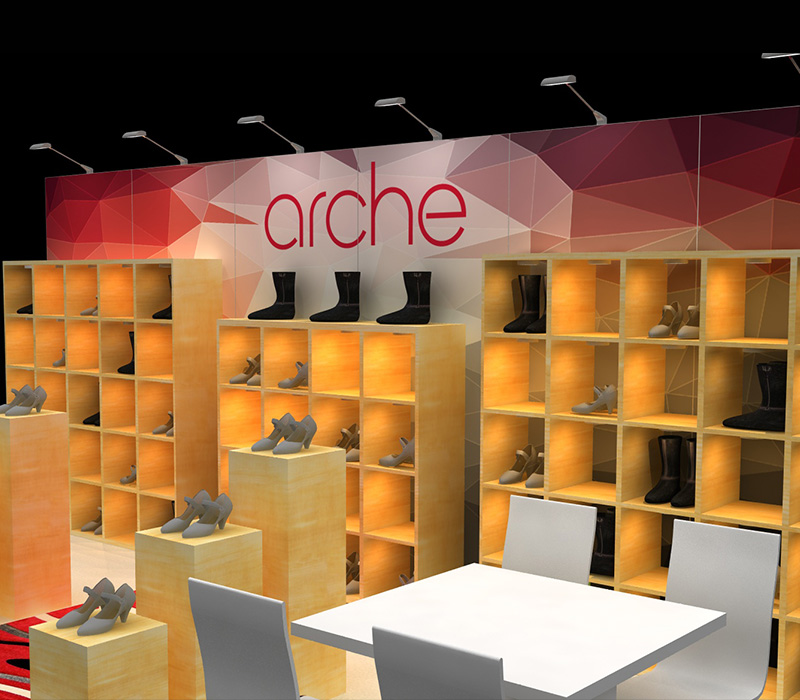 retail custom trade show booth