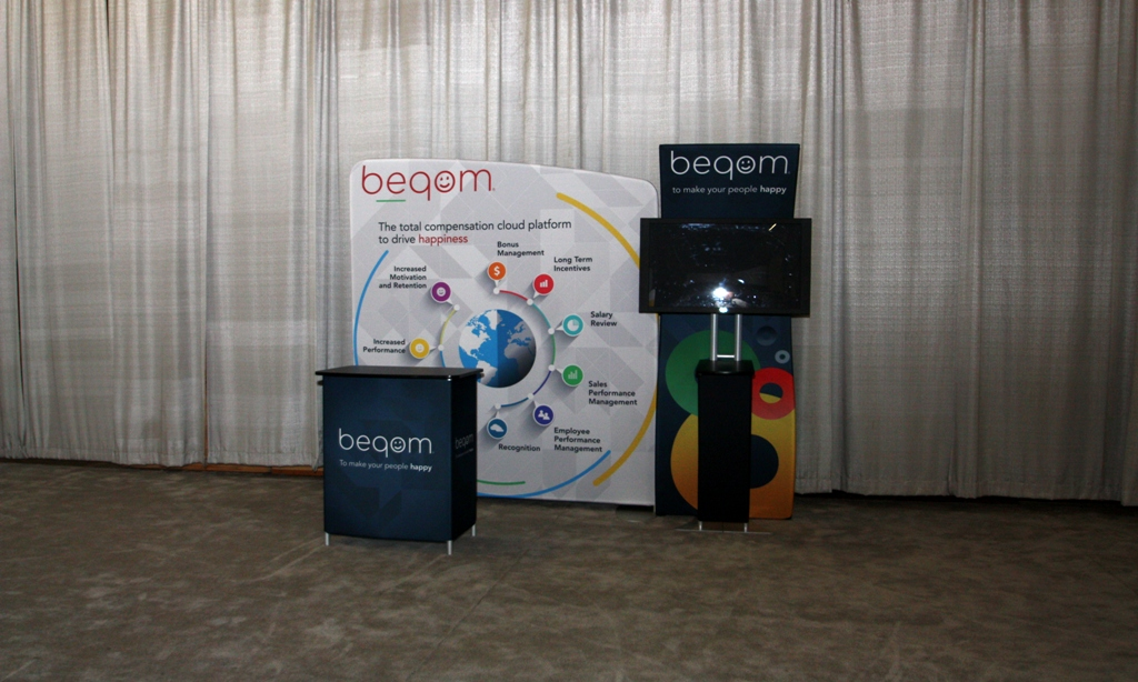 Trade Show Fabric Counters