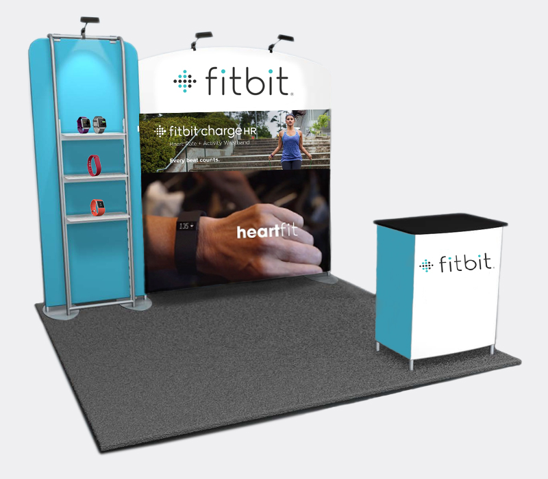 Custom Portable Fabric Booth