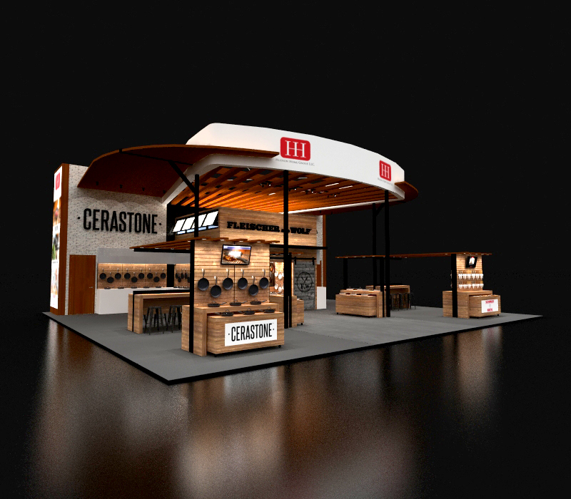 40x50 Custom Trade Show Display