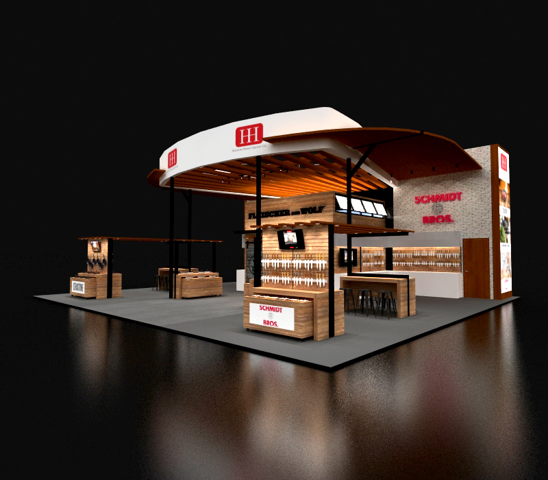 40x50 Custom Trade Show Exhibit