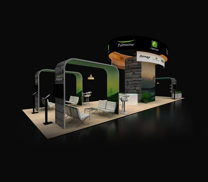 20x60 Custom Trade Show Booth