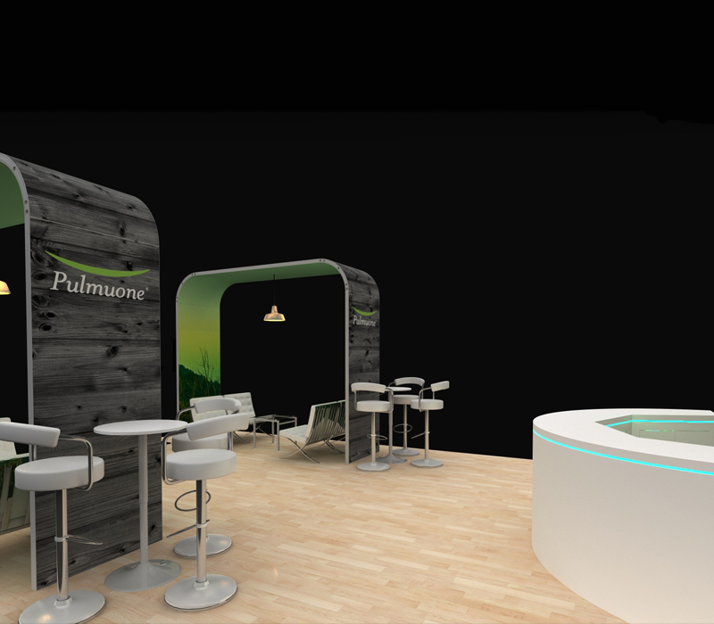 Food and Beverage Custom Trade Show Display