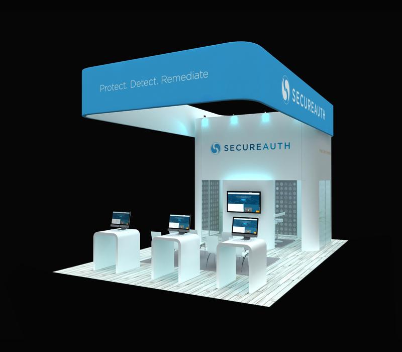 20x30 Custom Trade Show Booth
